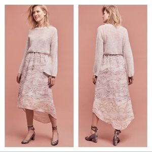 Anthropologie Rosay Sweater and Slip Dress set
